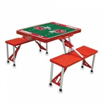 Kansas City Chiefs Picnic Table Sport